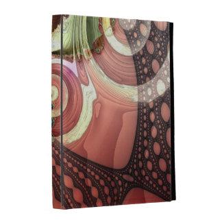 Caja abstracta fresca del folio del iPad del cordó