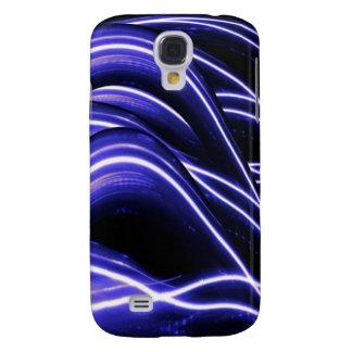 Caja abstracta ligera azul del iPhone 3G Funda Para Galaxy S4