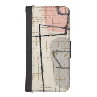 Caja abstracta moderna de la cartera del iPhone de Billetera Para iPhone 5