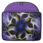 Caja abstracta violeta púrpura del extracto del ma fundas macbook pro