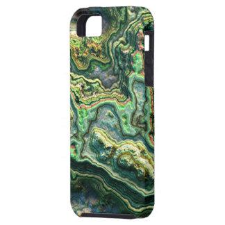 Caja acodada de la casamata de la piedra 1 iPhone 5 fundas
