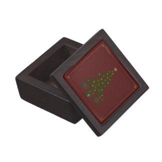 Caja acolchada de la baratija del navidad cajas de recuerdo de calidad
