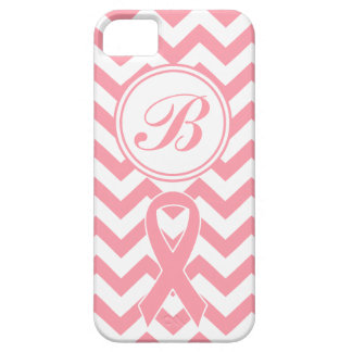 Caja adaptable del teléfono de Chevron del rosa Funda Para iPhone 5 Barely There