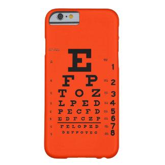 Caja adaptable del teléfono del color de fondo de funda de iPhone 6 barely there