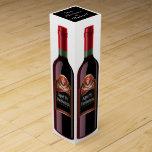 Caja adaptable del vino - SRF Caja Para Botella De Vino