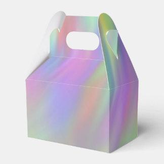 Caja adaptable líquida del favor caja para regalos de fiestas