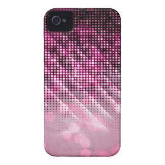 Caja adaptable rosada de Blackberry Case-Mate iPhone 4 Fundas