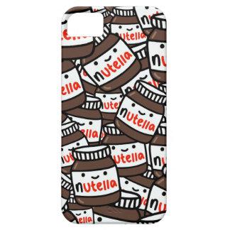 Caja adorable del teléfono de Nutella [superior] Funda Para iPhone SE/5/5s