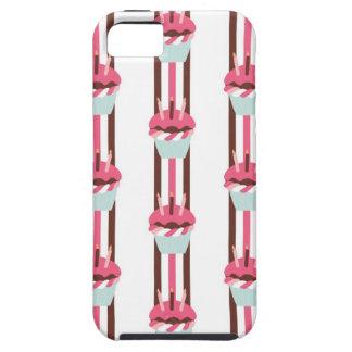 Caja adorable del teléfono del amante de la magdal iPhone 5 Case-Mate protector