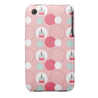 Caja adorable del teléfono del amante de la magdal iPhone 3 protectores