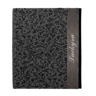 Caja afiligranada del folio del iPad