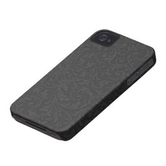 Caja afiligranada negra del compañero del caso del iPhone 4 Case-Mate carcasas