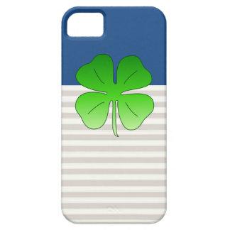 Caja afortunada del teléfono del trébol iPhone 5 carcasas