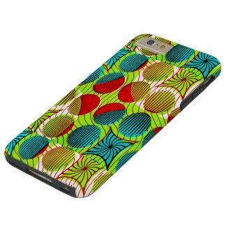 CAJA AFRICANA COLORIDA DEL MODELO IPHONE6 DE LA FUNDA PARA iPhone 6 PLUS TOUGH
