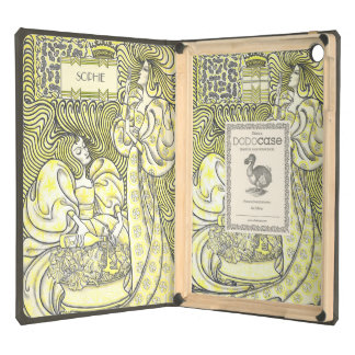 Caja agraciada del aire del iPad de las mujeres de