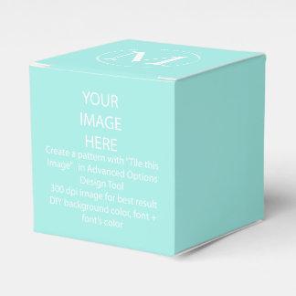 Caja/aguamarina del favor del color de DIY azul Cajas Para Regalos De Boda
