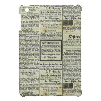 Caja alemana del periódico del vintage