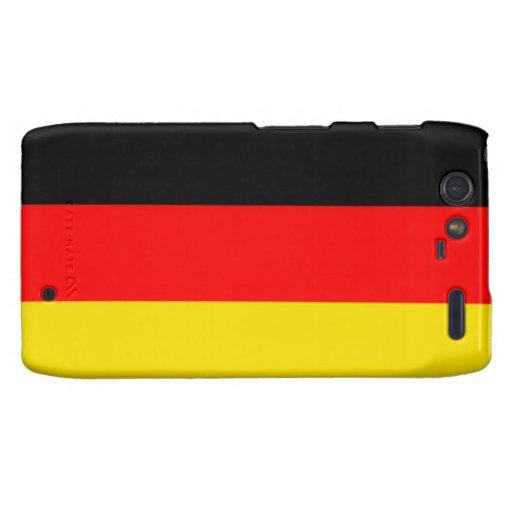 Caja alemana del teléfono de Droid Razr de la band Motorola Droid RAZR Fundas