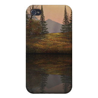 Caja alpina de IPod de las reflexiones de la puest iPhone 4 Carcasa