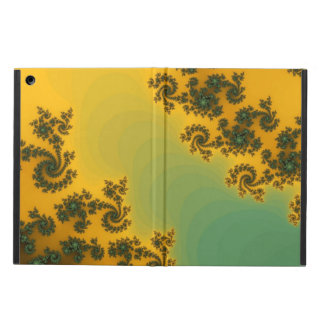 Caja amarilla bonita del aire del iPad del diseño
