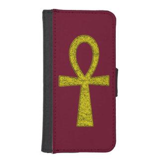 Caja amarilla de la cartera de Ankh Fundas Billetera Para Teléfono