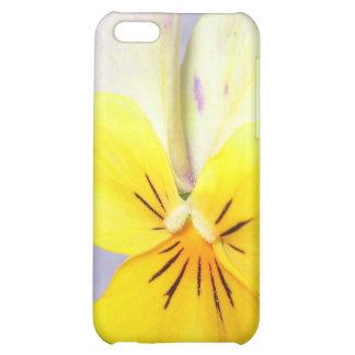 Caja amarilla de la flor Iphone4 de la belleza