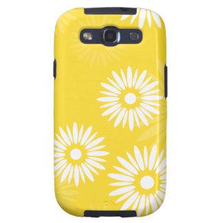 Caja amarilla de la galaxia S de Samsung de las fl Galaxy SIII Protectores