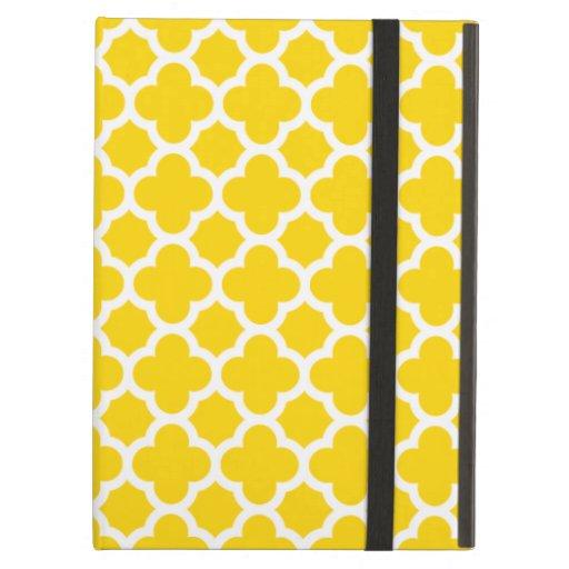 Caja amarilla del aire del iPad del modelo del enr