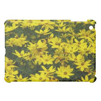 Caja amarilla del iPad de la flor del Coreopsis