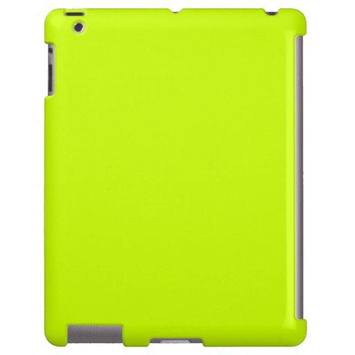 Caja amarilla del iPad de Samsung Funda Para iPad