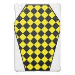 Caja (amarilla) del iPad del ébano de Damier