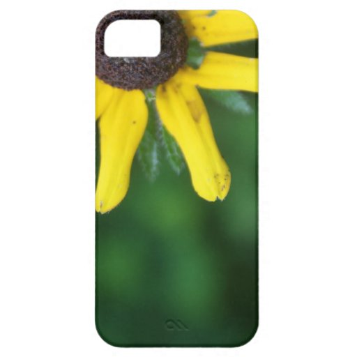 Caja amarilla del iPhone 5/5s del girasol iPhone 5 Carcasas