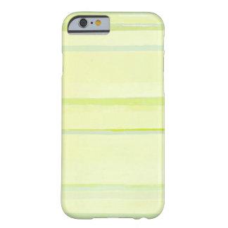 Caja amarilla del iPhone del arte abstracto de los Funda Para iPhone 6 Barely There