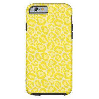 Caja amarilla femenina del iPhone 6 del modelo del Funda Para iPhone 6 Tough
