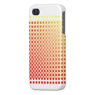 Caja amarilla roja del iPhone 4 del modelo del iPhone 4/4S Carcasa