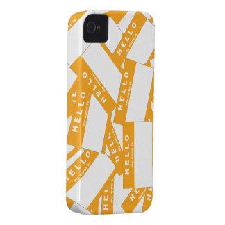 Caja (ambarina) de marfil del iPhone de Merhaba Carcasa Para iPhone 4 De Case-Mate