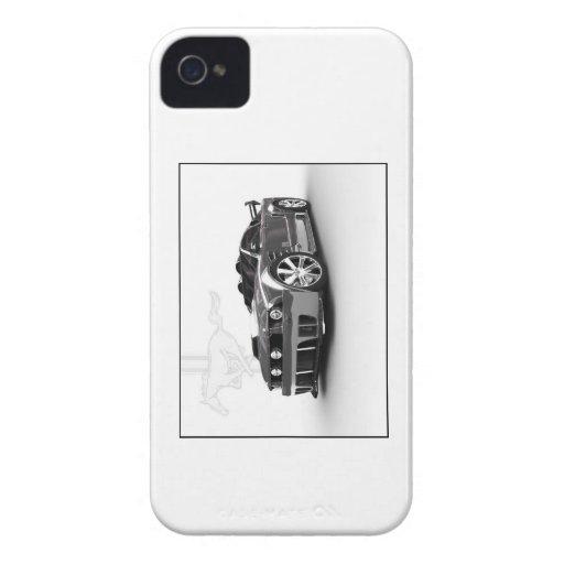 caja americana del teléfono del coche del músculo Case-Mate iPhone 4 protector