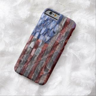 Caja americana del teléfono del sacrificio funda para iPhone 6 barely there