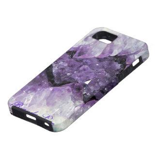 Caja Amethyst Personalize* del iPhone 5 de Geode 3 iPhone 5 Funda
