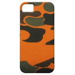 Caja anaranjada de Camo para el iPhone 5 iPhone 5 Funda