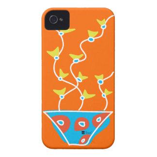Caja anaranjada de la casamata del iPhone 4 de la iPhone 4 Case-Mate Cárcasa