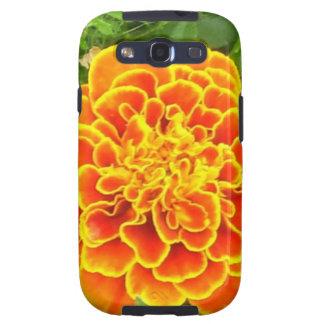 Caja anaranjada de la galaxia de Samsung de la mar Galaxy S3 Protectores