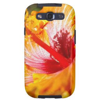 Caja anaranjada de la galaxia de Samsung del Galaxy S3 Cárcasa