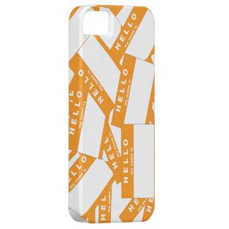 Caja (anaranjada) de marfil del iPhone de Merhaba Funda Para iPhone SE/5/5s