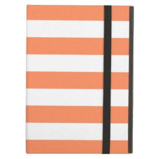 Caja anaranjada del aire del iPad de la nectarina