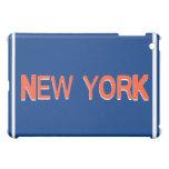 Caja anaranjada del iPad de Nueva York