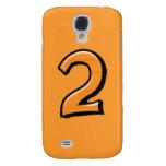 Caja anaranjada del iPhone 3G del número 2 tontos