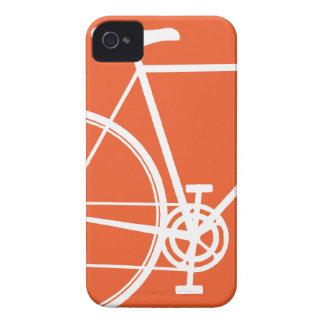 Caja anaranjada del iPhone 4 de la bicicleta iPhone 4 Cárcasas