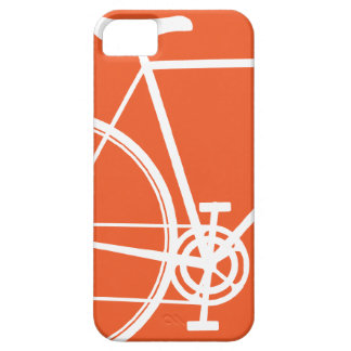 Caja anaranjada del iPhone 5 de la bicicleta iPhone 5 Coberturas