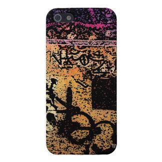 Caja anaranjada del iPhone 5 de los artes de la ca iPhone 5 Funda